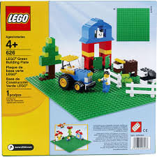 LEGO Bricks & More 626 Groene bouwplaat 32x32