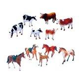 Newray-Set-Paarden-of-Koeien-6-stuks-Assorti