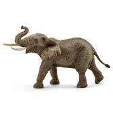 Schleich-Speelfiguur-Afrikaans-Olifant-Mannetje