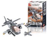 Sluban-M38-B0537G-3in1-Gevechtshelikopter-144-delig