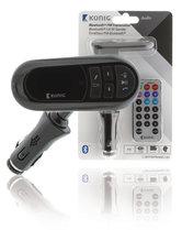 König-CSBTFMTRANS100-Auto-Audio-Transmitter-Bluetooth-+-Microfoon-Zwart