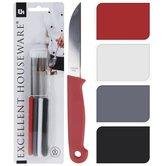 Excellent-Houseware-Schilmessenset-Rood-Wit-Grijs-Zwart-4-Stuks