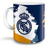 Real-Madrid-Porseleinen-Mok-300-ml-Multicolor