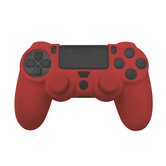 Silicone-Skin-+-Grips-(rood)-voor-PS4