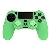 Playstation-4-Siliconen-controller-skin-inclusief-thumbs-grips-Glow-in-the-Dark-groen