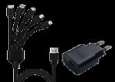 Universele-Stopcontact-oplader-voor-PS4--PS3-Switch-Pro-controllers-iPhones-iPads-en-USB-C-apparaten