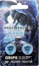 Monster-Hunter:-Iceborn-thumb-grips-Geschikt-voor-de-PS4-PS3-en-Xbox-360-Blauw