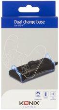 Konix-Playstation-4-Dual-Charger-Dubbele-oplader-Zwart
