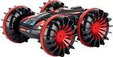 Carrera-RC-All-Terrain-Stunt-Car-Afstand-bestuurbare-auto-Zwart-en-Rood-gekleurd