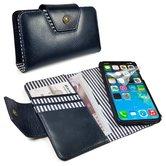 Alston-Craig--leren-wallet-style-case-met-RFID-en-magnetische-hoes-voor-Apple-iPhone-X--XS-Navy-blauw