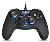 Spirit-of-Gamer-Wired-Controller-XGP-PC-PS3-Zwart-met-Blauw