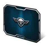 Spirit-of-Gamer-Muismat-Skull-Medium-Blauw