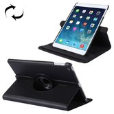 Tuff-luv-Leren-beschermhoes-met-roterende-standaard-Apple-iPad-9.7-inch-(2017)-en-air-2-zwart