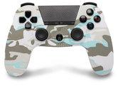 PS4-Bluetooth-Controller-met-koptelefoonaansluiting-Snow-White-Camo