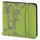 Hama-Wallet-Up-To-Fashion-Voor-24-CD-DVD-Blu-ray-Groen
