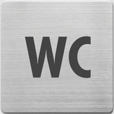 Alco-AL-450-5-Pictogram-RVS-90x90x1mm-WC--