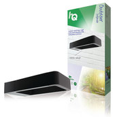 HQ-HQLEDWLOUT05-LED-Vloer-Wandlamp-IP54-6W-120LM-ZwartBuiten