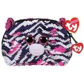 TY-Fashion-Handtas-Zebra-Zoey-20-cm-Zwart-Wit-Roze