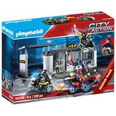 Playmobil-70338-City-Action-SEK-Hoofdkantoor-Koffer-+-Licht