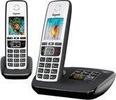Gigaset-A670A-DUO-Telefoon-Zwart-Wit