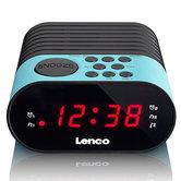 Lenco-CR-07-Wekkerradio-Blauw