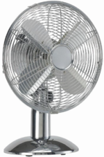 HQ-KN-MTF12-Tafelventilator-30cm-35W-Chroom-Zilver