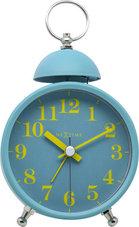NeXtime-NE-5213TQ-Wekker-Single-Bell-16x9.2x5.4-Metaal-Turquoise-Geel
