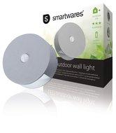 Ranex-RA-1004236-Led-Wandlamp-Voor-Buiten-Met-Sensor-0.5-W-60-Lm-Grijs