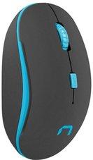 Natec-Martin-optische-draadloze-muis-zwart-en-blauw