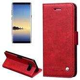 Tuff-luv-Faux-leren-book-stand-case-voor-de-Samsung-Galaxy-note-8-rood