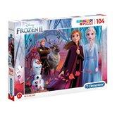 Clementoni-Disney-Frozen-2-Supercolor-Puzzel-104-Stukjes