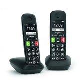 Gigaset-E290R-DUO-DECT-Telefoons-2-Stuks-Zwart