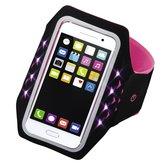 Hama-Sport-armband-Running-Voor-Smartphones-Maat-XXL-Met-Led-Pink