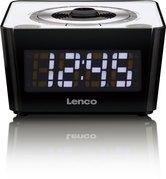 Lenco-CR-16-Wekkerradio-Wit