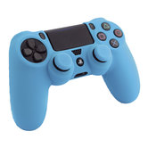 Silicone-Skin-+-Thumb-Grips-(blauw)-voor-PS4