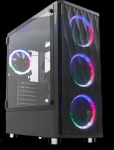Rampage-X-HORSE-Tempered-Glass-600W-80-Plus-Bronze-4-Rainbow-Fan-1-Usb-3.0-Usb-2.0-Gaming-Case
