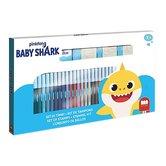 Baby-Shark-Kleur-Stempelset-41-delig