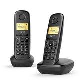 Gigaset-A270-Duo-DECT-Telefoon-Zwart