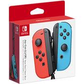Nintendo-Switch-Joy-Con-Controller-paar-Neon-Rood-en-Blauw
