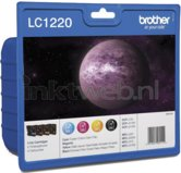 Brother-LC-1220-Multipack-zwart-en-kleur-(Origineel)