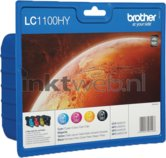 Brother-LC-1100HY-Multipack-zwart-en-kleur-(Origineel-Hoge-Capaciteit)