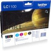 Brother-LC-1100-Multipack-zwart-en-kleur-(Origineel)