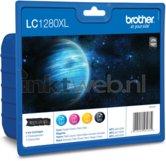 Brother-LC-1280-Multipack-zwart-en-kleur-(Origineel-XXL)