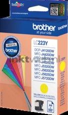 Brother-LC-223Y-geel-(Origineel-Hoge-Capaciteit)