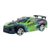 Ninco-RC-Yoko-Driftauto-+-Licht-1:18-Groen-Zwart