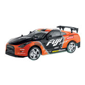 Ninco-RC-Fuji-Driftauto-+-Licht-1:18-Oranje-Zwart