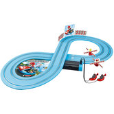 Carrera-First-Mariokart-Racebaan-+-2-Autos-en-2-Controllers-240-cm