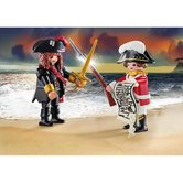 Playmobil-70273-Piratenkapitein-en-Roodroksoldaat