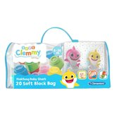 Clementoni-Soft-Clemmy-Baby-Shark-+-20-Blokken