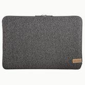 Hama-Notebook-sleeve-Jersey-Tot-40-Cm-(156)-Donkergrijs